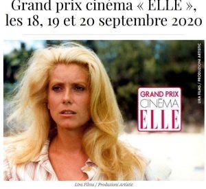 Annonce grand prix cine elle